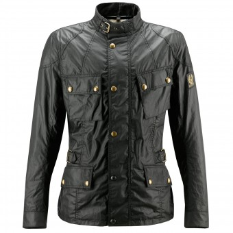 Giacche Moto Lunghe Belstaff Crosby Black