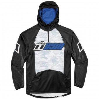 Pullover Moto ICON Single Stack Blue