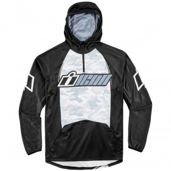 Pullover Moto ICON Single Stack Grey