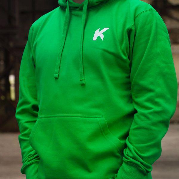 Kikaninac Sweat Hoodie Supermot Verde