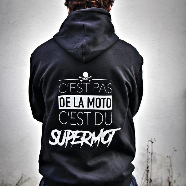 Pullover Moto Kikaninac Sweat Hoodie Supermot