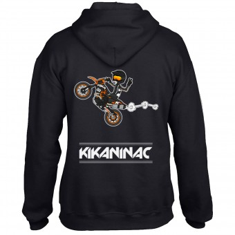 Pullover Moto Kikaninac Sweat K Black