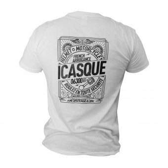 T-Shirt Moto iCasque Savage Black