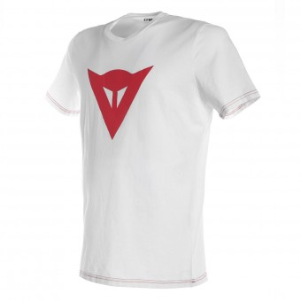 T-Shirt Moto Dainese Speed Demon White Red