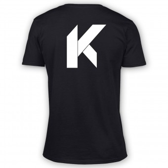 T-Shirt Moto Kikaninac Big K Black