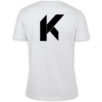 T-Shirt Moto Kikaninac Big K White