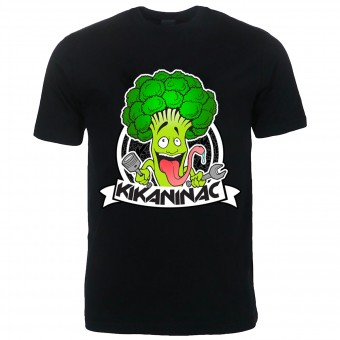 T-Shirt Moto Kikaninac Broco Black