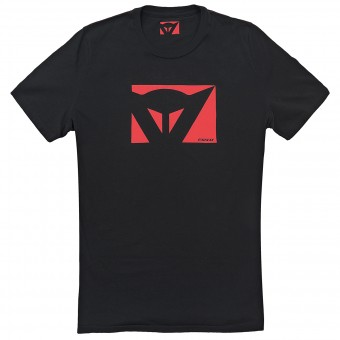 T-Shirt Moto Dainese Color New Black