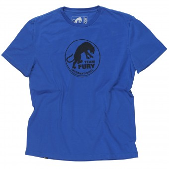 T-Shirt Moto Furygan Team Fury MC Blue