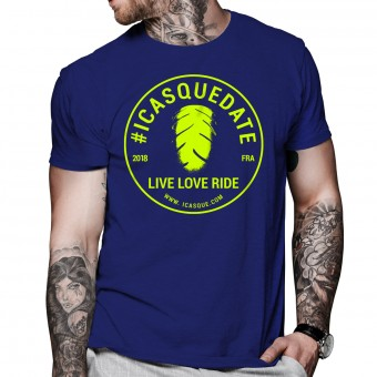 T-Shirt Moto iCasque Tee-Shirt icasquedate3