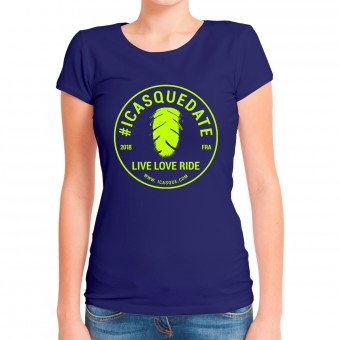 T-Shirt Moto iCasque Tee-Shirt Lady icasquedate3