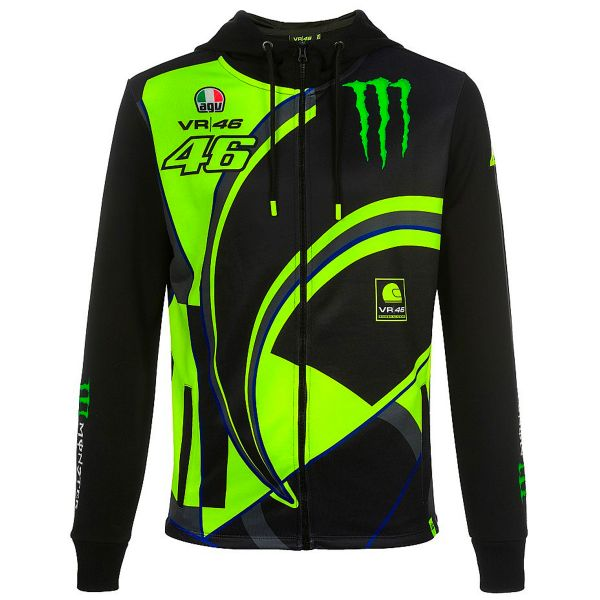 Giacche VR 46 Hoodie Replica Monster Dual